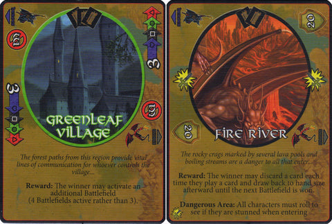 Defenders of the Realm: Battlefields: Greenleaf Village & Fire River