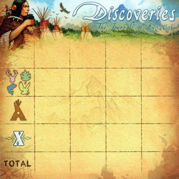Discoveries: Score Pad