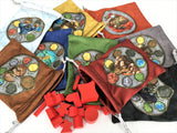 GeekUp Bag Set: Terra Mystica Player Bags