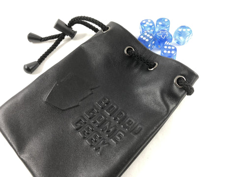 BGG Leather Dice Bag