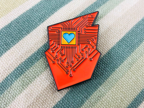 BGG Tech Logo Enamel Pin