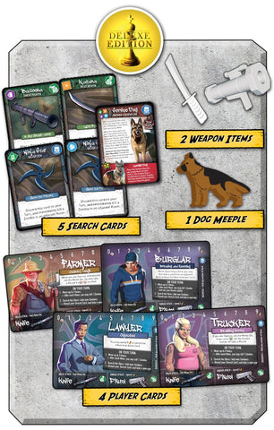 Tiny Epic Zombies: Kickstarter Deluxe Promo Pack
