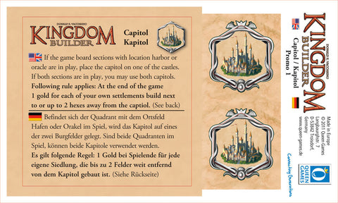 Kingdom Builder: Capitol