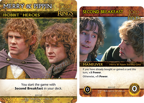 The Lord of the Rings: The Fellowship of the Ring Deck-Building Game – Merry & Pippin Promos