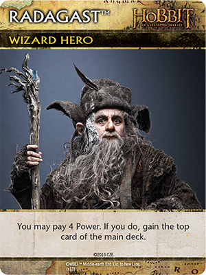 The Hobbit: An Unexpected Journey Deck-Building Game - Radagast Promo