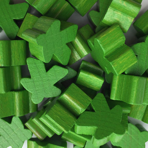 Wooden Meeples - Bag of 10