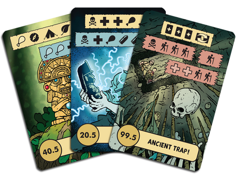 The Lost Expedition: The Cursed Idol Promo Cards