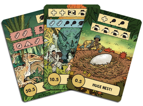The Lost Expedition: The Lost World Promo Cards