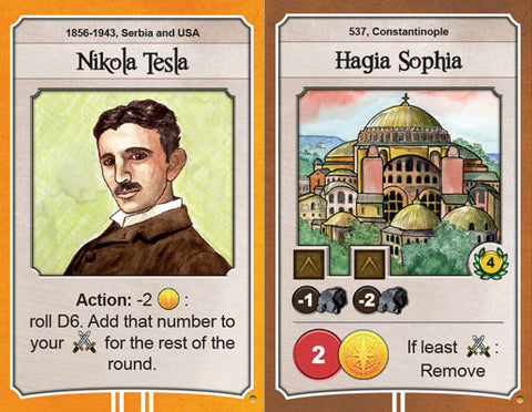 Nations: Tesla & Hagia Sofia