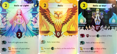 Paper Tales: The Relic Foil Cards