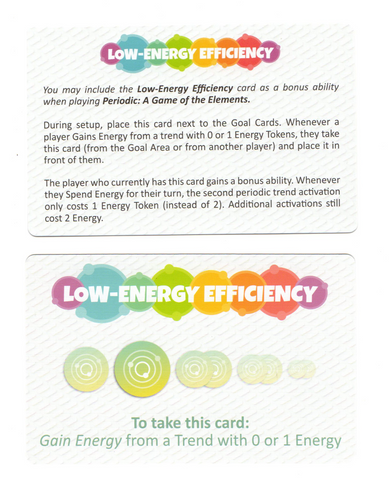 Periodic: Low-Energy Efficiency