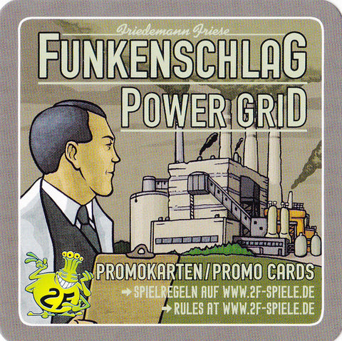 Power Grid: Theme Park (BGG Promo Card Set)