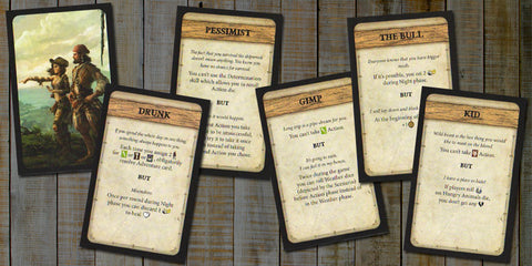 Robinson Crusoe: Trait Cards 1