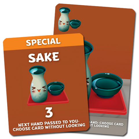 Sushi Go Party!: Sake