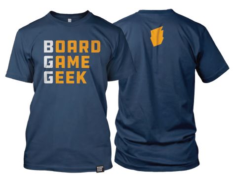 BGG Wordmark t-shirt - 2019 edition