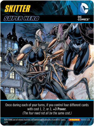 DC Comics Deck-Building Game: Skitter