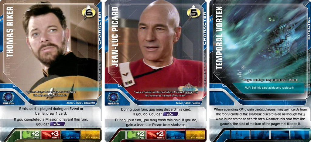 Boardgamegeek Star Trek Deck Building Game