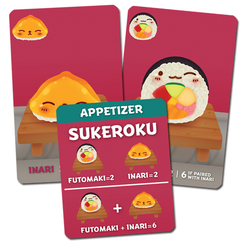 Sushi Go Party!: Sukeroku Promo