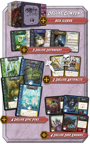 Tiny Epic Defenders The Dark War: Kickstarter Deluxe Promo Pack