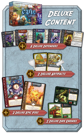 Tiny Epic Defenders 2nd Edition: Kickstarter Deluxe Promo Pack