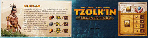 Tzolk'in: The Mayan Calendar - Tribes & Prophecies: Mini Expansion 1