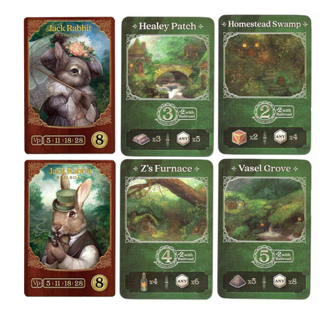 Raccoon Tycoon: New Town + Jack Rabbit Promos
