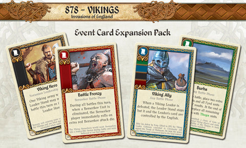 878: Vikings – Event Card Expansion Pack