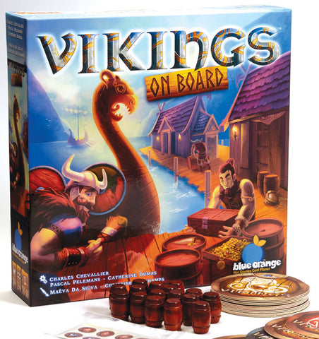 Vikings on Board: Barrels