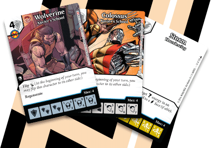 Marvel Dice Masters: Xavier's School Promo Cards