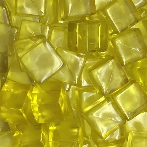 Translucent Plastic Cubes - 8 mm - Bag of 50