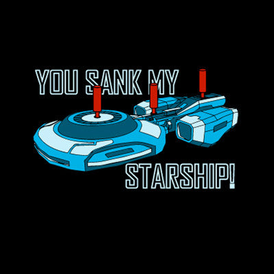 Starship Command Game T-Shirt