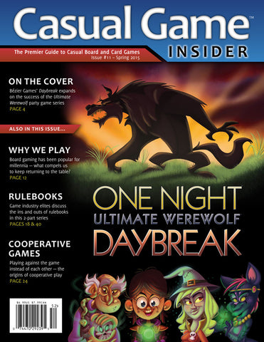 Casual Game Insider Issue #11 - Spring 2015