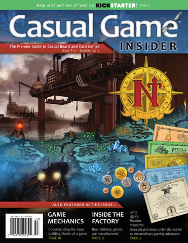 Casual Game Insider Issue #12 - Summer 2015