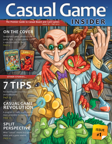 Casual Game Insider Issue #1 - Fall 2012