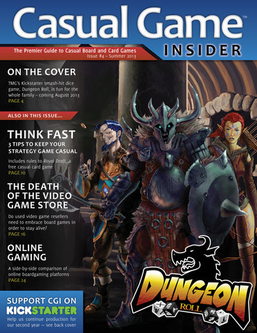 Casual Game Insider Issue #4 - Summer 2013