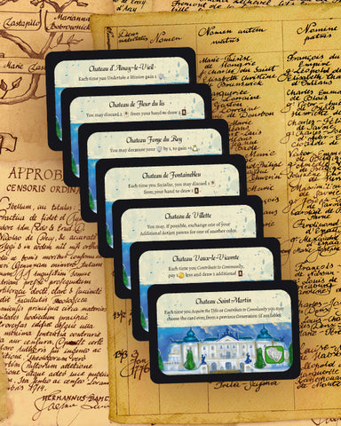 Legacy: The Testament of Duke de Crecy - Extra Mansion Cards
