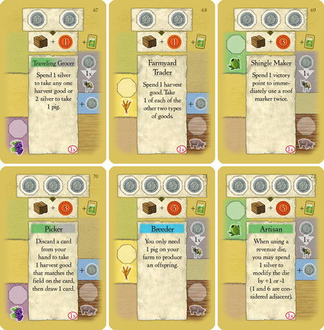 La Granja: 2nd Edition Promo Cards