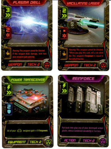 Critical Mass: Set of 4 Promotional Cards