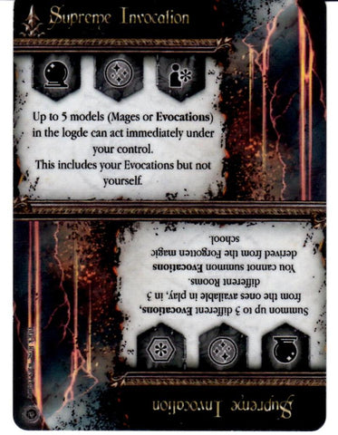 Black Rose Wars: Supreme Invocation Promo Card