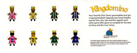 Kingdomino: Stickers