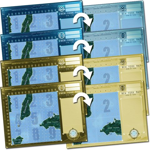 Captain Sonar: New York Map