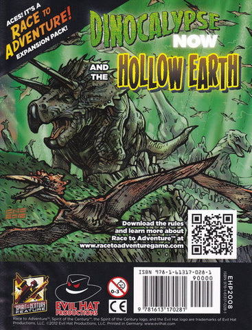 Race to Adventure! Expansion Pack: Dinocalypse Now and the Hollow Earth