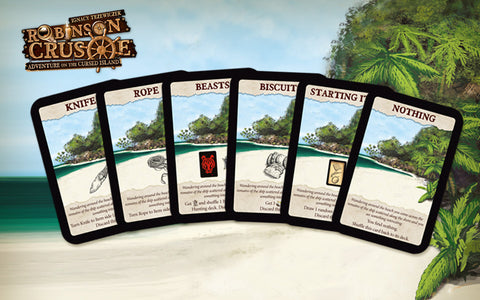 Robinson Crusoe: Adventure on the Cursed Island – Beach Card Mini Expansion