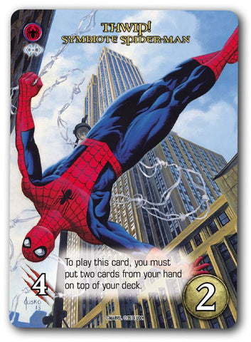 Marvel Masterpiece Trading Card: Symbiote Spider-Man