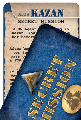 Agents of SMERSH: Secret Mission Cards