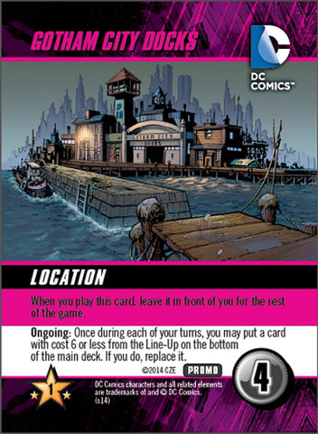 DC Comics Deck Building Game: Gotham City Docks