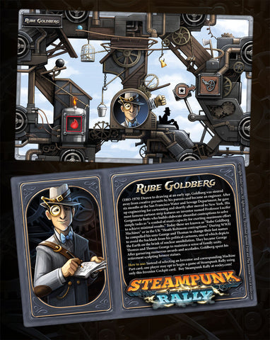 Steampunk Rally: Rube Goldberg