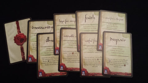 Robinson Crusoe: Adventure on the Cursed Island – Secret Trait Cards