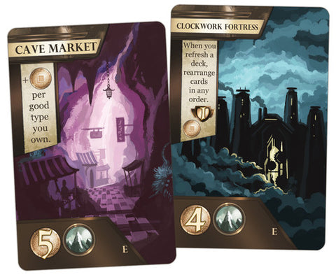 City of Iron: Clockwork Fortress and Cave Market Promo
