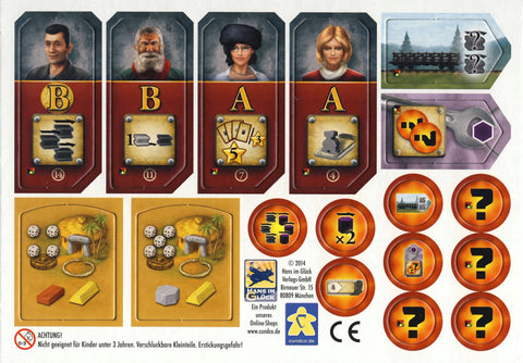 Russian Railroads: Mini-Expansion / Stone Age: Casino